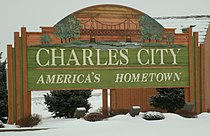 Welcome Sign Charles City, Iowa.JPG