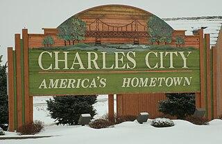 Charles City, Iowa City in Iowa, United States