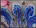 Wenzel August Hablik, Světélkující řasy. Akvárium v Neapoli (1911), barevné tuše, papír 490 x 635 mm, sbírka kresby Národní galerie v Praze.jpg