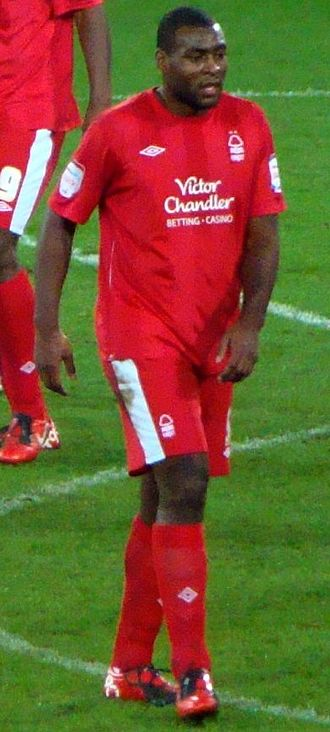Wes Morgan - Morgan playing for Nottingham Forest in 2010