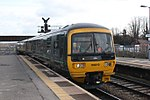 Westbury - GWR 166210 ecs for Frome service.JPG