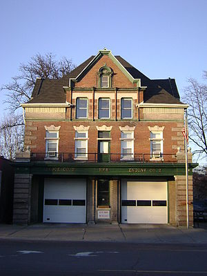 Binghamton Fire Department - Image: Westside Fire Station