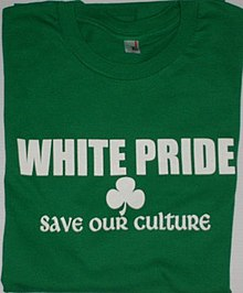 people ignore shameful white pride