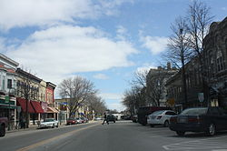 Main Street, downtown Whitewater