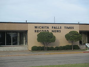 Times Record News - Wichita Falls Times Record News office