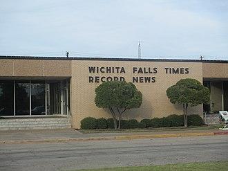 Times Record News - Wichita Falls Times Record News office