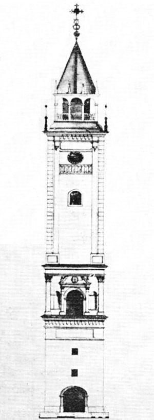 St. John's Archcathedral, Warsaw - John III Sobieski Tower, built 1688–1692