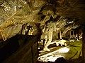 Wieliczka, solné doly, vyobrazení středověkých horníků.JPG
