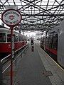 Wien - Straßenbahnhaltestelle am Bahnhof Praterstern - Linien 5, O (6267637754).jpg