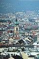 Wiener Prater, Riesenrad, Blick zur Pfarrkirche Leopoldstadt.JPG