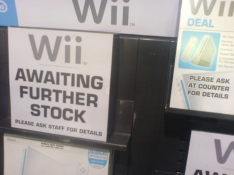 Wii sold out