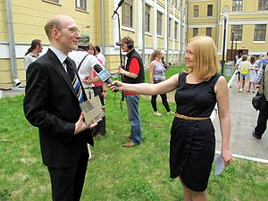 Wiki Party in Moscow 2013-05-18 (Wikipedia Alley; Krassotkin; 21).JPG