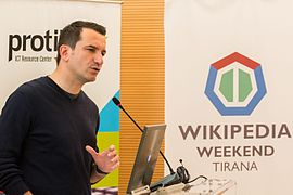 Wikipedia Weekend in Tirana 2015 48.JPG