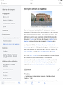 "Wikipedia iPad screenshot of ""Olympe de Gouge"" in French - vertical title subsection location display.png"