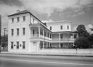 William Aiken House and Associated Railroad Structures - William Aiken House in 1969