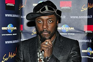 English: will.i.am, member of music group Blac...