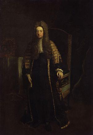William Cowper, 1st Earl Cowper - The Earl Cowper.