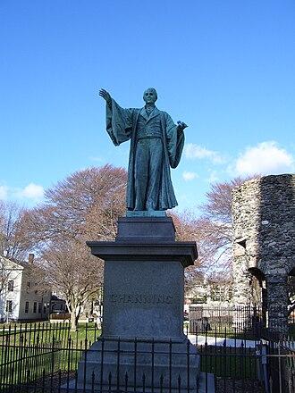William Clark Noble - Image: William Ellery Channing statue in Touro Park