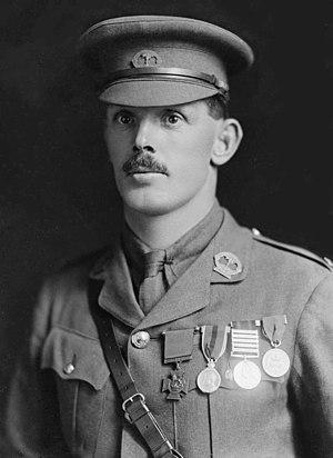 William Hardham - Captain William Hardham, April 1916