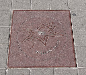 William Hutt (actor) - Hutt's star on Canada's Walk of Fame
