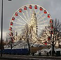 Winter fun by the Civic Centre, Cardiff - geograph.org.uk - 1671525.jpg
