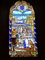 Wissous (91), église Saint-Denis, nef, vitrail n° 5 - translation des reliques de saint Denis.jpg