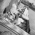 Women Run a Boat- Life on Board the Canal Barge 'Heather Bell', 1942 D7636.jpg