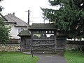 Wooden Church Saint Nicholas Bogdan Voda 2011 - Main Gate.jpg