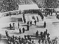 World War I Unknown Soldier is laid to rest in Arlington National Cemetery on 11 November 1921.jpg