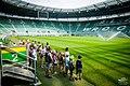 Wrocław, zwiedzanie stadionu z przewodnikiem.jpg