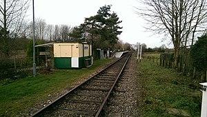 Wymondham Abbey railway station - Wymondham Abbey station, 2015