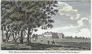 Wyn-Stay in Denbighshire: seat of Sir Watkin Williams Wynne, bart