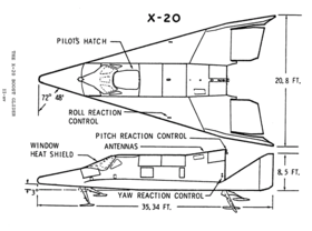 Image illustrative de l'article Boeing X-20 Dyna-Soar