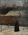 Xavier Mellery (1845-1921) Winterdag - Kröller-Müller Museum Otterlo 23-08-2016 13-15-59.JPG