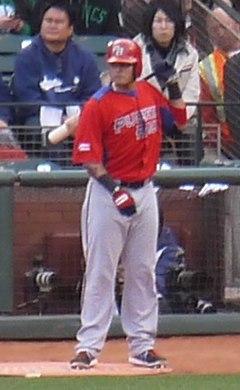 Yadier Molina on March 17, 2013