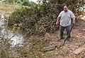 Yellow Anaconda (Eunectes notaeus) held by some stupid tourist (Me ^^^) - Flickr - berniedup.jpg