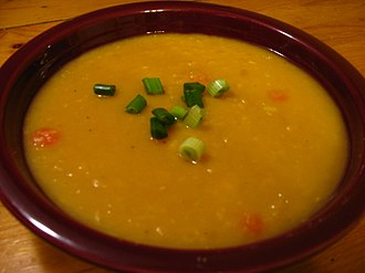 Pea soup - Yellow split pea soup