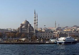 A panoramic view from the Golden Horn