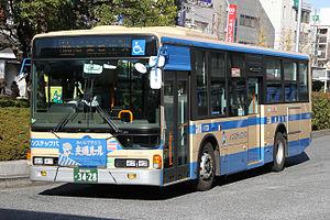Yokohama City Transportation Bureau - A fleet of Yokohama Municipal Bus
