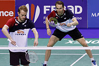 Mathias Boe - Carsten Mogensen, French Super Series 2013.