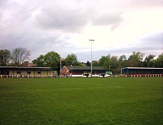 Yorkshire Amateur A.F.C. - Image: Yorkshire Ammers developed pitch side