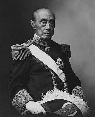 Tokugawa Yoshinobu - Tokugawa Yoshinobu in court uniform