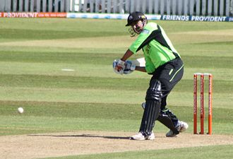 Younis Khan - Younis batting for Surrey in the FPt20 in England.