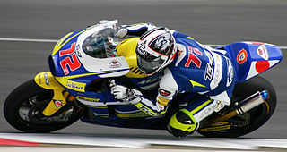 Japanese motorcycle racer