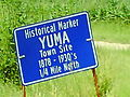 Yuma Kansas historical marker sign.jpg