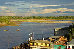 Alto Amazonas Province - Huallaga River near Yurimaguas