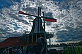 Zaandijk - Zaanse Schans - Kalverringdijk - View WSW on Paint Mill 'De Kat' 1782, where Pigments are being grinded.jpg