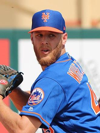 Zack Wheeler - Wheeler with the Mets in 2019