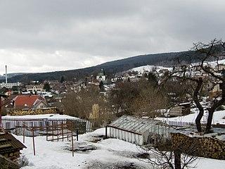 Zásada Market town in Liberec, Czech Republic