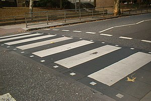 Zebra crossing by C Ford